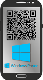 QR-Code zum Download der Winphone App